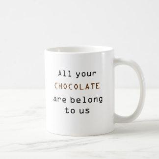 All Your Chocolate Mug