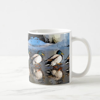 All your ducks in a row ... coffee mug