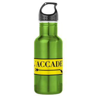 All'Accademia, Venice, Italian Street Sign 532 Ml Water Bottle