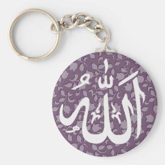 Allah islamic decorative key ring