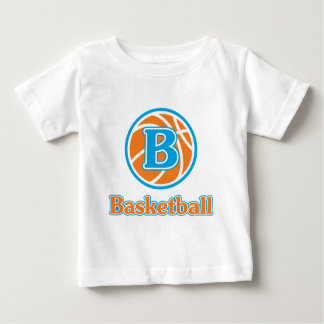 Allaire Orange Basketball Baby T-Shirt