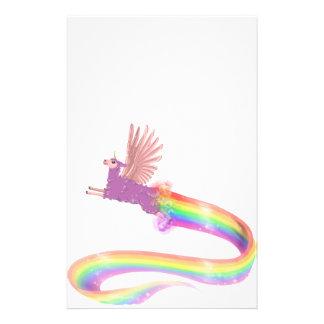 Allamacorn Rainbow Stationery