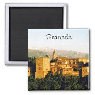 allambra granada square magnet