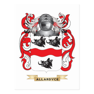 Allardyce Coat of Arms (Family Crest) Post Cards