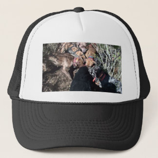 alldogscatch trucker hat