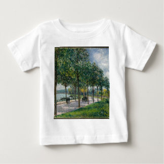 Allée of Chestnut Trees - Alfred Sisley Baby T-Shirt