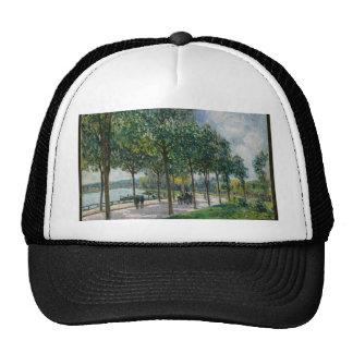 Allée of Chestnut Trees - Alfred Sisley Cap