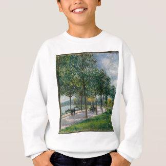 Allée of Chestnut Trees - Alfred Sisley Sweatshirt