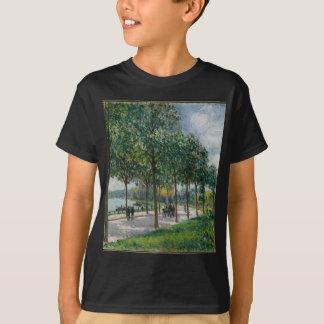 Allée of Chestnut Trees - Alfred Sisley T-Shirt