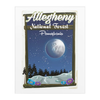 Allegheny National Forest Pennsylvania Acrylic Print