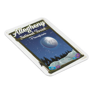 Allegheny National Forest Pennsylvania Magnet