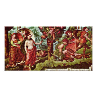 Allegory By Meister Von Alcira Best Quality Photo Cards