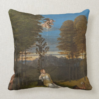Allegory of Chastity, c. 1505 (oil on panel) Throw Cushions