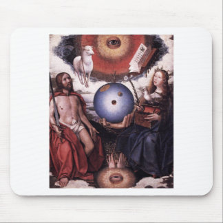 Allegory of Christianity by Jan Provoost Mouse Pad