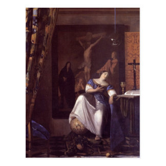 Allegory of Faith Postcard
