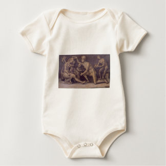 Allegory of Fecundity and Abundance Luca Signorell Baby Bodysuit