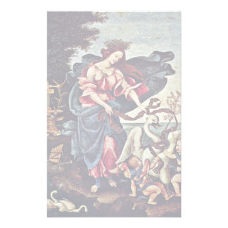 Allegory Of Music By Lippi Filippino Personalized Stationery