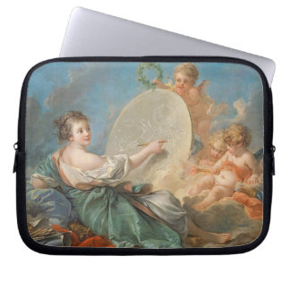 Allegory of Painting, 1765 (oil on canvas) Laptop Computer Sleeves