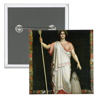 Allegory of the Republic, 1848 15 Cm Square Badge