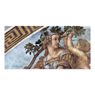Allegory Of Virtue Detail By Raffael (Best Quality Photo Card