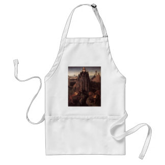 Allegory with a Virgin by Hans Memling Standard Apron