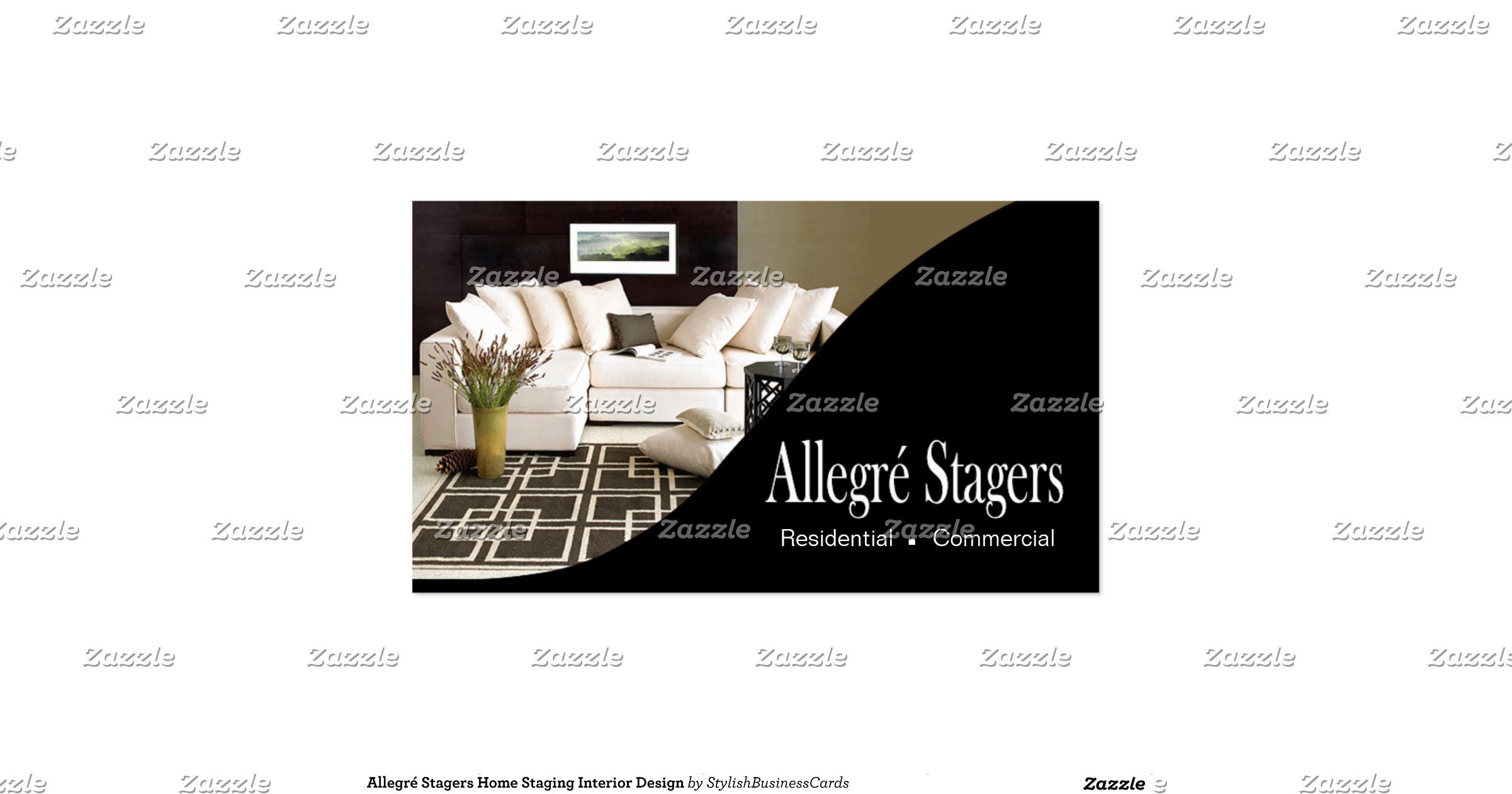 Allegr Stagers Home Staging Interior Design Pack Of