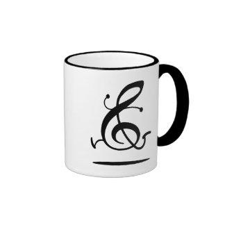 Allegro Clef Coffee Mugs