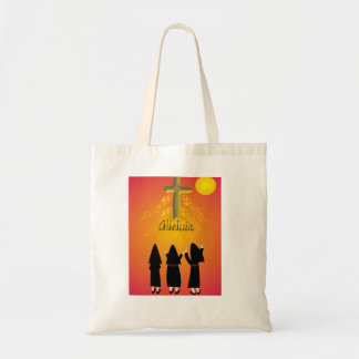 """Alleluia"" Catholic Religious Gifts Budget Tote Bag"