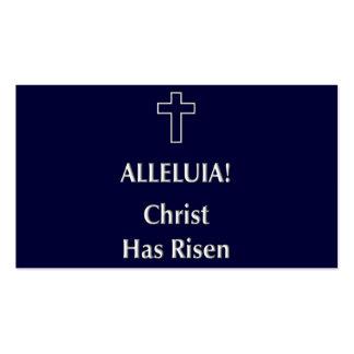 Alleluia! Christ Has Risen Business Card
