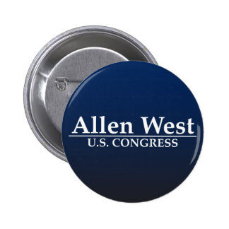 Allen West U.S. Congress 6 Cm Round Badge