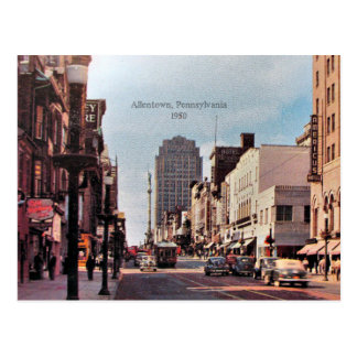 Allentown, Pennsylvania 1950 Postcard
