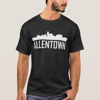 Allentown Pennsylvania City Skyline T-Shirt