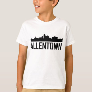 Allentown Pennsylvania City Skyline T-Shirt
