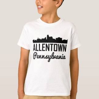 Allentown Pennsylvania Skyline T-Shirt