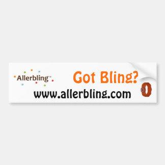 Allerbling Got Bling Bumper Sticker