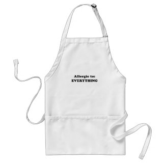 Allergic to Everything Standard Apron