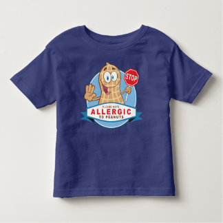 Allergic to Peanuts Tee Shirts