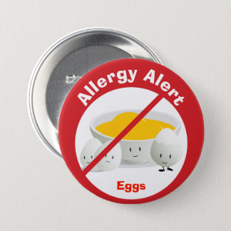 Allergy Alert Button | Eggs
