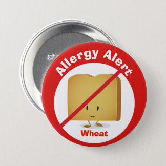 Allergy Alert Button | Wheat