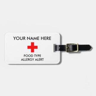 Allergy Alert ID/ICE Tag