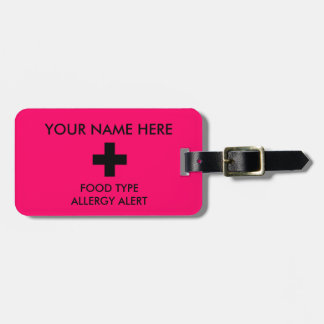 Allergy Alert ID Tag