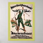 Alles Furs Vaterland WWI Poster (border)