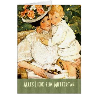 Alles Liebe zum Muttertag . German Greeting Card
