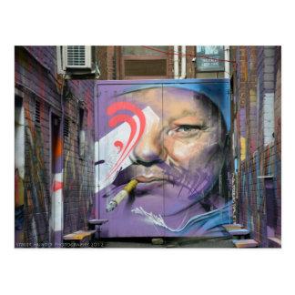 Alley Art 1 - Street Hunter Photography Postcard