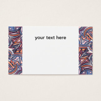 Alley Cat - Abstract Art Business Cards