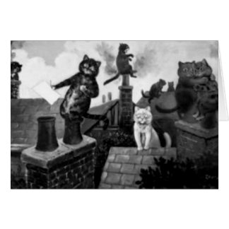 Alley Cats of Louis Wain Card
