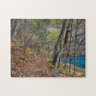 Alley Mill Autumn Walk Jigsaw Puzzle