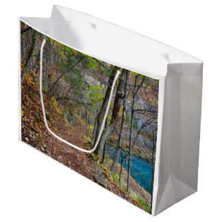 Alley Mill Autumn Walk Large Gift Bag