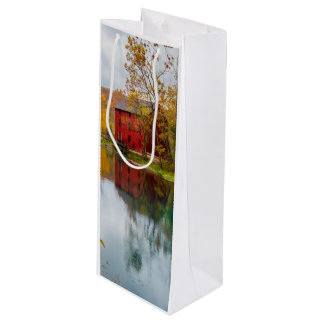 Alley Mill Autumn Wine Gift Bag