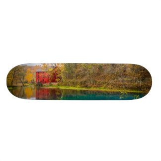 Alley Roller Mill And Spring 20.6 Cm Skateboard Deck